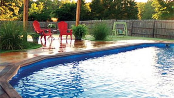 Recessed Pools