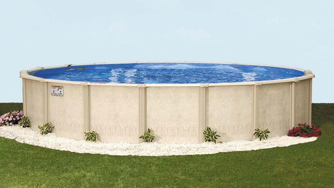 Autumn Breeze Above Ground Resin Frame Pool - Doughboy iFrame