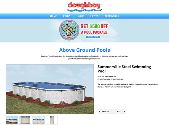 Above Ground Pool Products