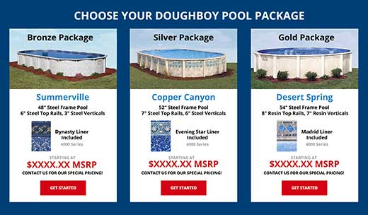 Doughboy Pool Package